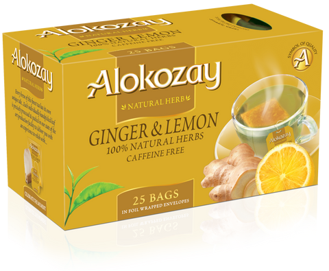 Ginger Lemon Tea - 25 Tea Bags