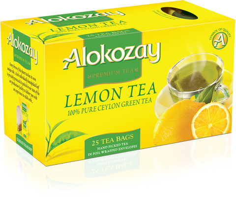 Lemon Green Tea - 25 Tea Bags