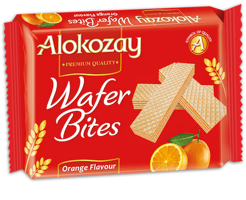 Orange Wafer Bites 45g
