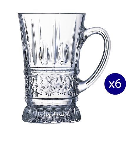 Crystal Mug - 6 Pcs