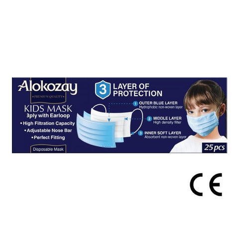 Kids Face Mask - 25pcs