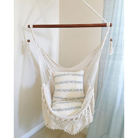 Find A Macrame Hammock Pattern For Your Chair