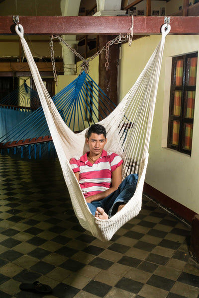 XL Hanging Hammock Chair Stretch Out Swing Chair No Bar - Mission Hammocks