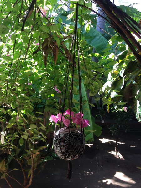 Macrame Plant Hangers, Hanging Planter, Plant Hangers, Hanging Plant Holders, Hanging Plants, Macrame Plant Holder, Hanging Basket Plants, Hanging Basket - Socially Positive - Mission Hammocks - 2