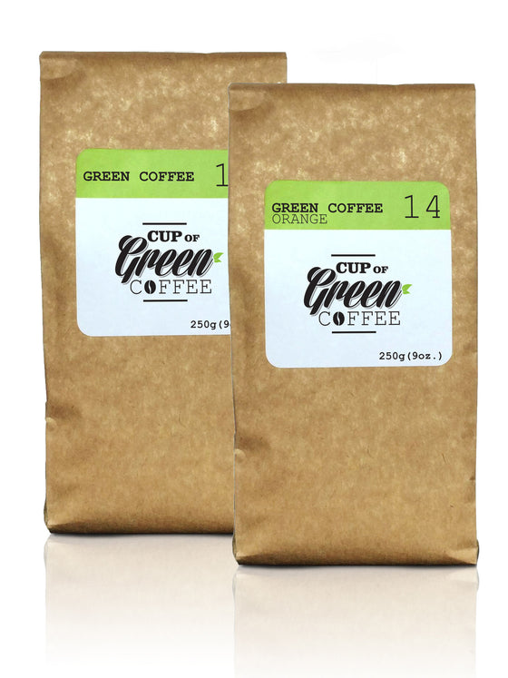 Green Coffee + Green Coffee | Orange