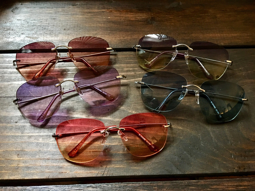 Noel - Rose Crystal + Clear | Crystals, Rose colored ... |Rose Colored Glasses Readers