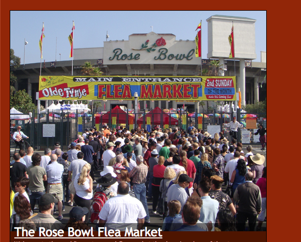 Sunglass Museum is at the Rose Bowl Flea Market