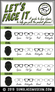 A Guide to the Most Flattering Glasses for Your Face Shape