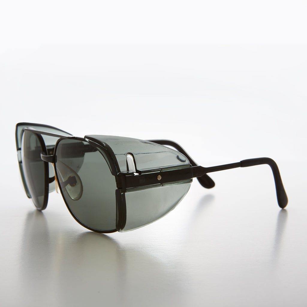 Stylish Safety Sunglass Goggles with Tinted Side Shields