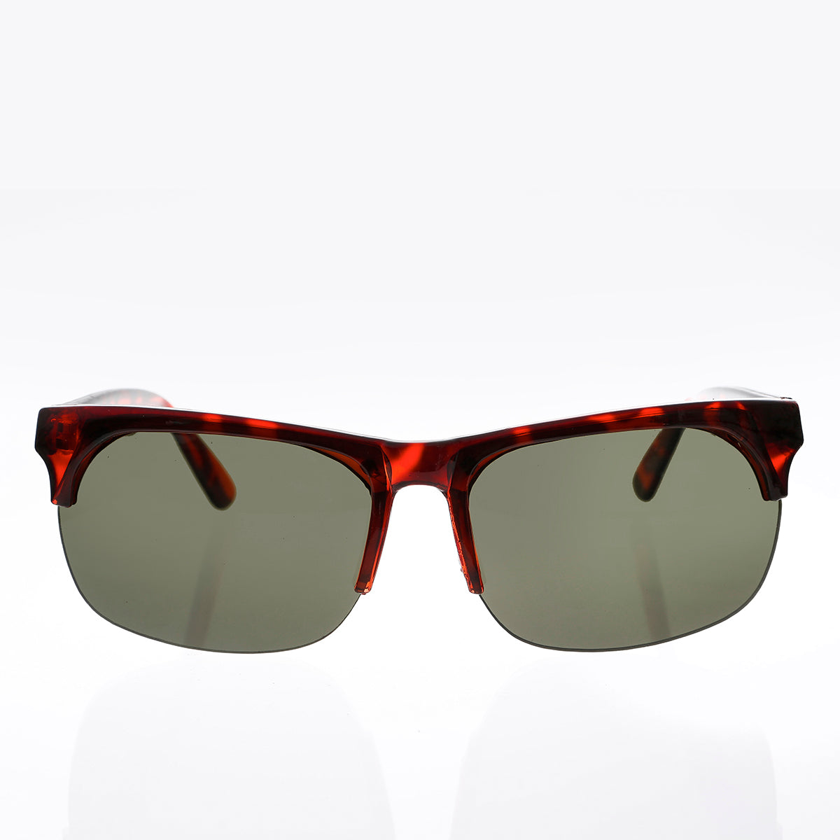 Half Frame Updated Classic Vintage Sunglass