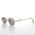 Load image into Gallery viewer, Gold Silver Hexagon Vintage Optical Quality Sunglass
