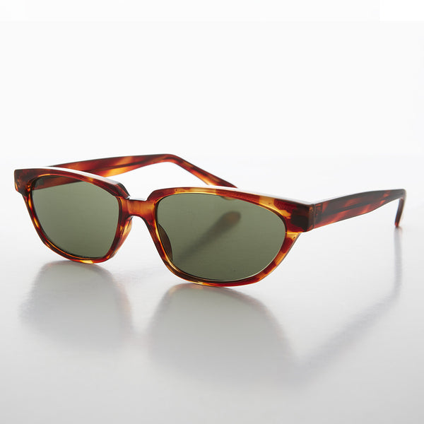 Unique Horn Rim Retro 60s Men's Vintage Sunglass - Abbot