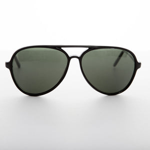 a22bfbdc2 Classic Vintage Aviator Sunglass with Glass Lens - Air Boss ...