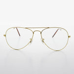 Metal Aviator Vintage Sunglass with Transition Lens