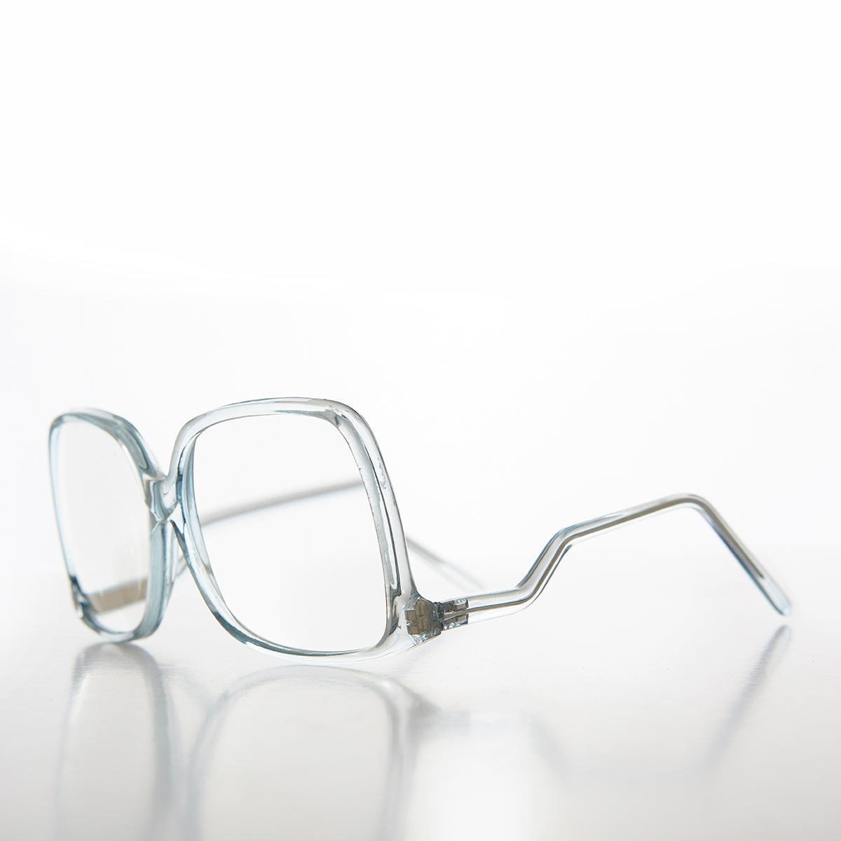 Oversized Reading Glasses with Upside Down Temples