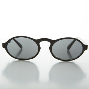 1930 retro acetate oval aviator vintage sunglass