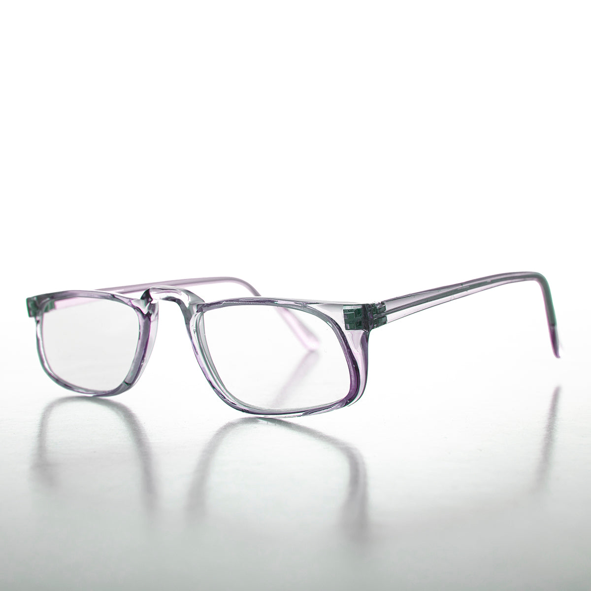 Half-Frame Classic Reading Glasses 90s Vintage - Annie