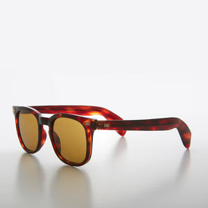 Square James Dean Brown Tortoiseshell Vintage Sunglass