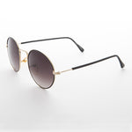 Load image into Gallery viewer, round hippy gradient lens vintage sunglass
