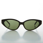 Load image into Gallery viewer, black cat eye vintage sunglass