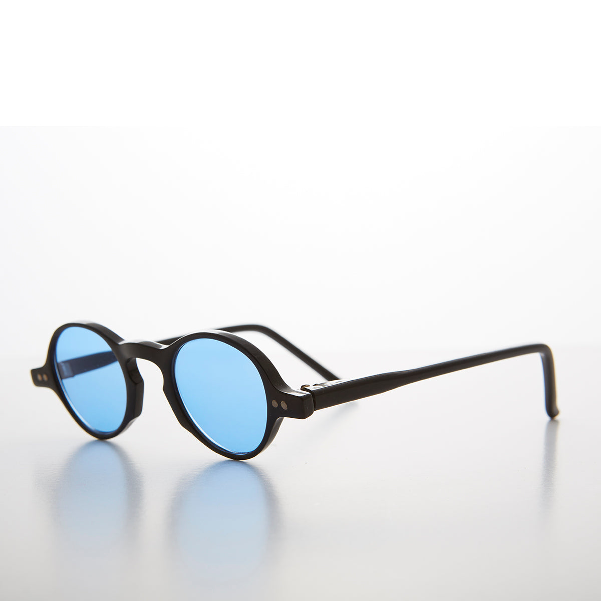 Small Spectacle Sunglass with Color Tinted Lens