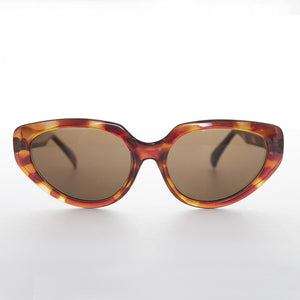 tortoiseshell vintage oversized cat eye sunglass