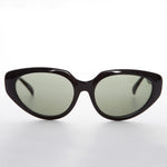 Load image into Gallery viewer, black vintage oversized cat eye sunglass