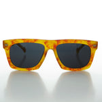 Classic Thick Square Flat Top 1950s Retro Sunglass