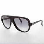 Load image into Gallery viewer, 1980s square true vintage aviator black with gradient lens