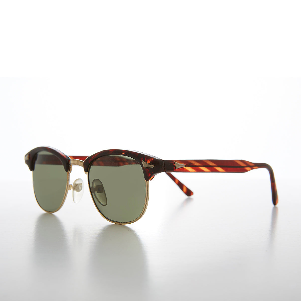 Classic Hipster Browline Vintage 80s Retro Sunglass