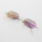 Load image into Gallery viewer, Tripple Pierced Hexagon Vintage Sunglass
