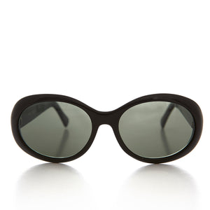 Big Oversize Oval Bug Eye Unisex Vintage 90s Mod Sunglass