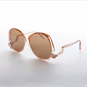Drop Temple Polarized Boho Butterfly Women's Vintage Sunglass