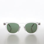 Clear Acetate Square Sunglass