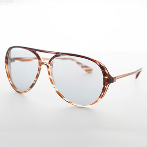 classic acetate vintage sunglass with Corning USA transition lens