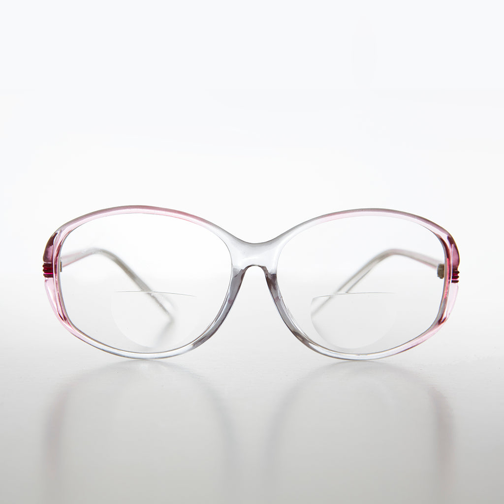 Large Oval Women's Bifocal Reading Glasses