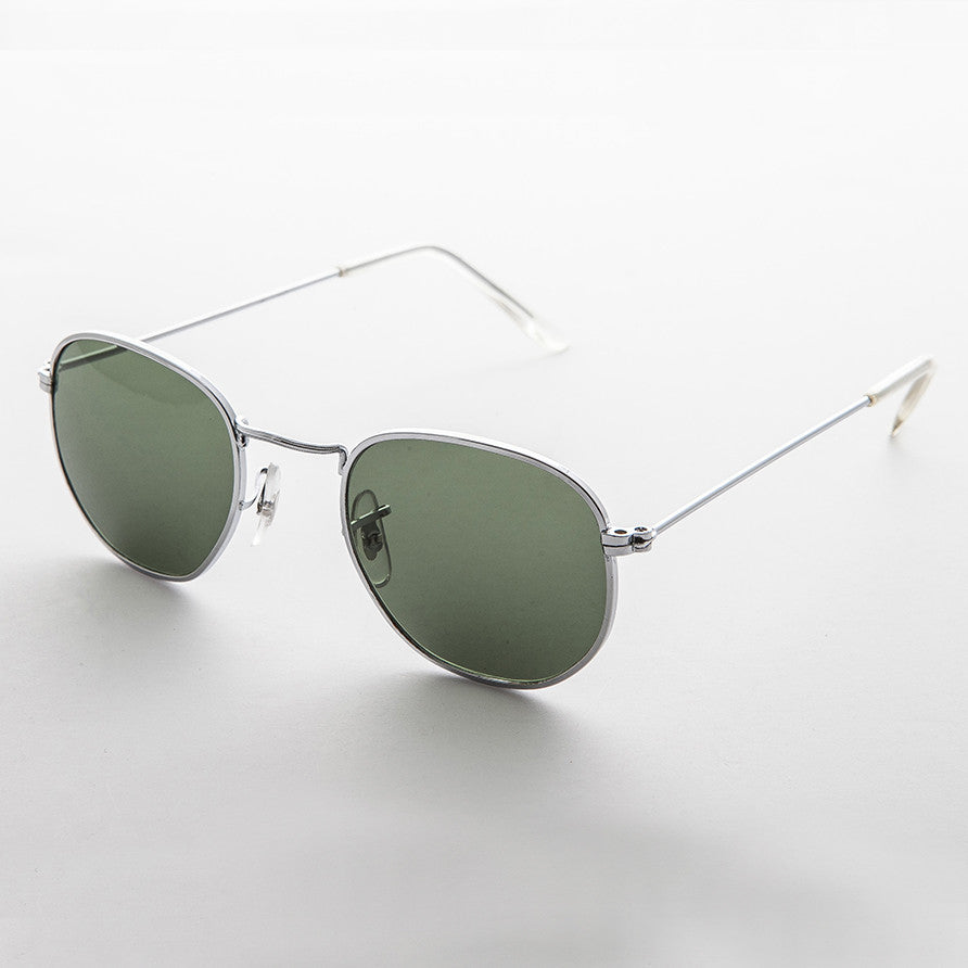 metal square classic vintage sunglass