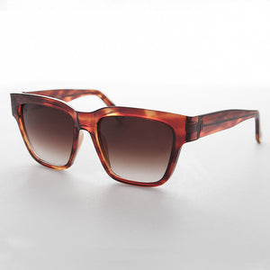 high brow square vintage sunglass