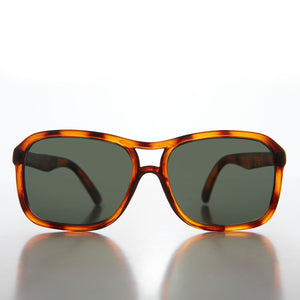 Square Aviator with Glass Impact Resistant Lens - Buddy