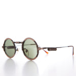 Load image into Gallery viewer, Round Industrial Steampunk Vintage Sunglass