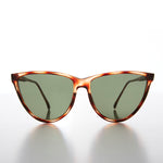 Load image into Gallery viewer, Large Unique Cat Eye Vintage Sunglass