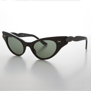 extreme cat eye vintage sunglass