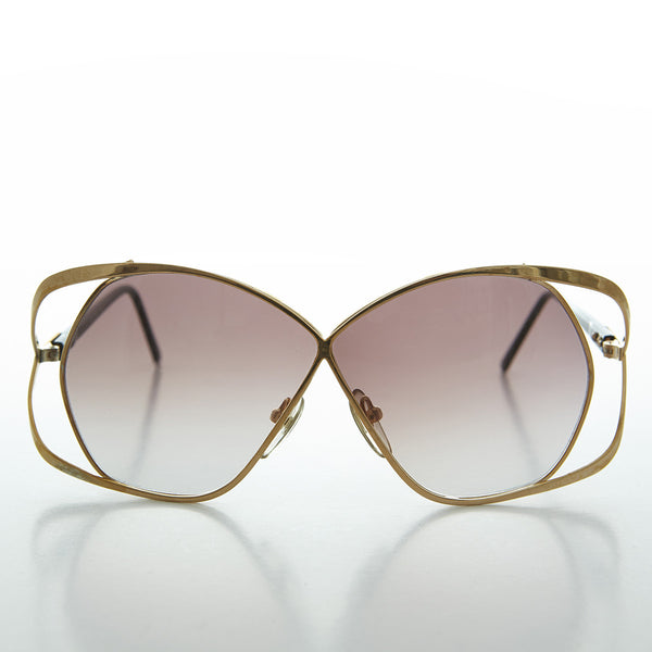 x form vintage womens oversized sunglass