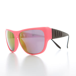 80s Neon Sunglass with Black Temple