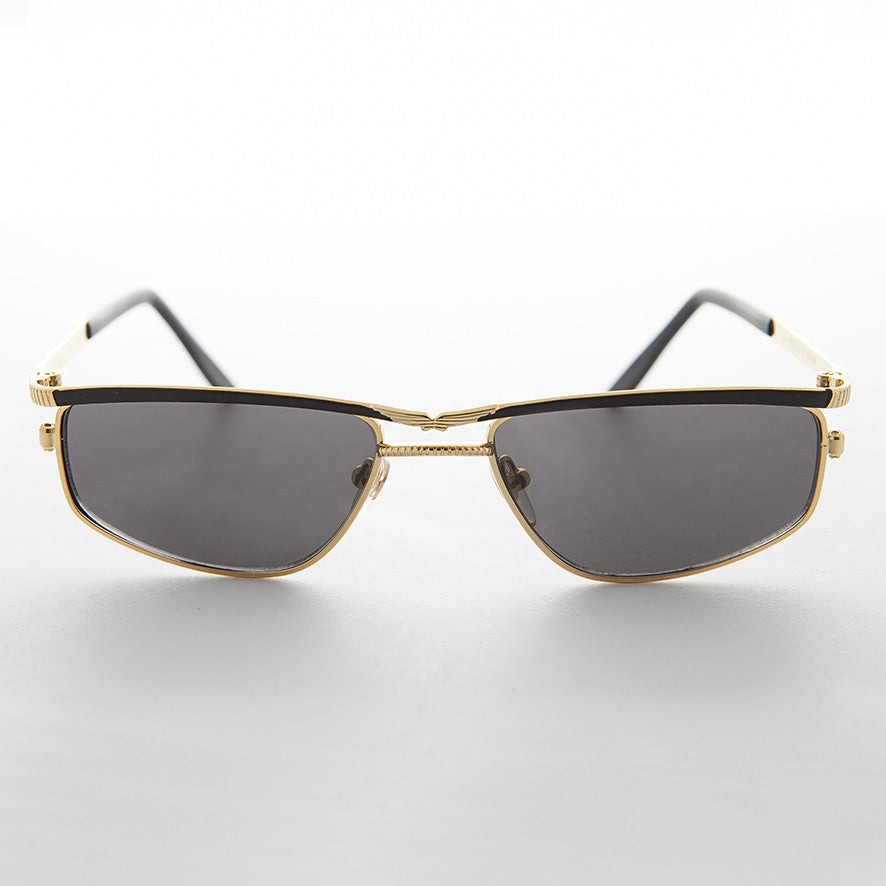 optical quality metal vintage aviator sunglass