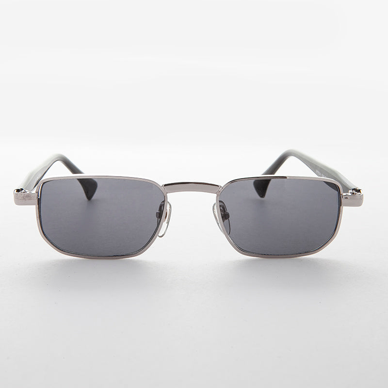 Narrow Rectangular 90s Vintage Sunglass