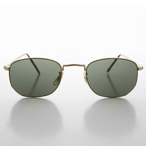 metal square mens vintage sunglass
