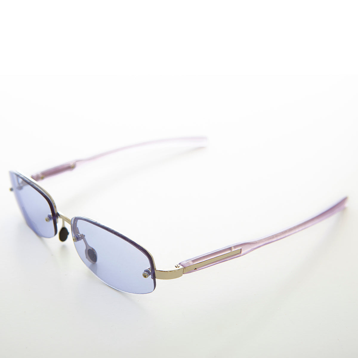 Colorful Rimless Lens Vintage Sunglass