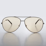 orange lens aviator sunglass