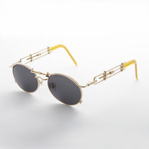 jpg inspired goth oval vintage steampunk sunglass